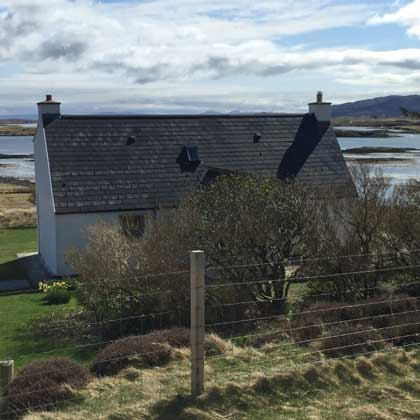 Where to stay on the Isle of North Uist
