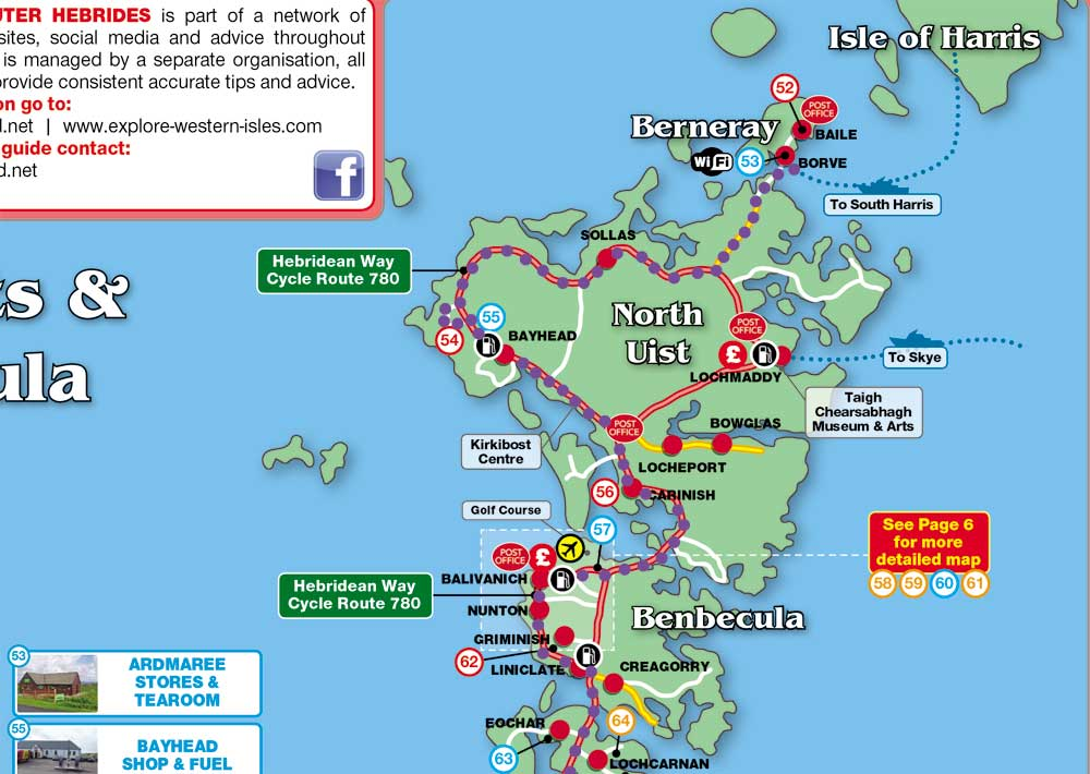 Hebridean Way Cycle Route North Uist